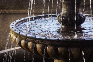 Feng-Shui-fountain