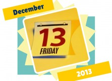 The Friday 13, December 2013