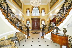 double-staircase-entry-feng-shui-poison-arrow