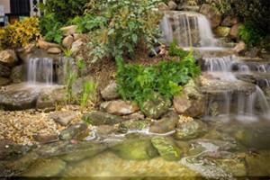 feng-shui-mirror-in-garden